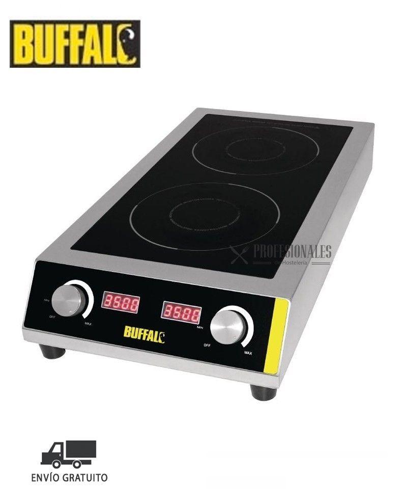 Cocina de Induccin Elctrica Doble Uso Intensivo GF239 Buffalo