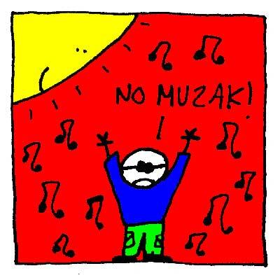 Giorgio intervient, il ne veut pas de Muzak !