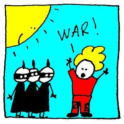 Fred décide de la guerre !