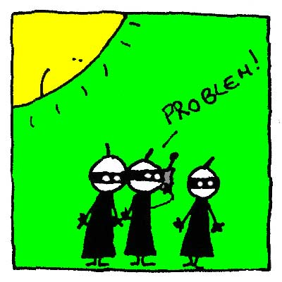 Les Ninjas doivent trouver une solution.