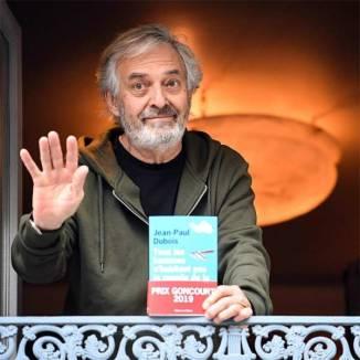 Jean-Paul Dubois et son Goncourt 2019