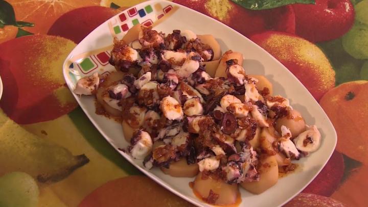 Poulpe aux pommes de terre