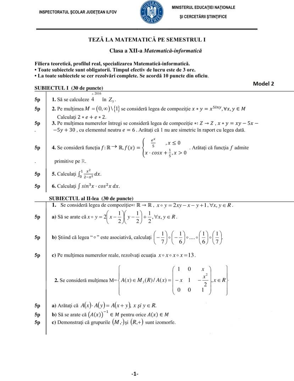 Model 2 de teza-clasa-a12a-sem1-M1-mate-info-p1