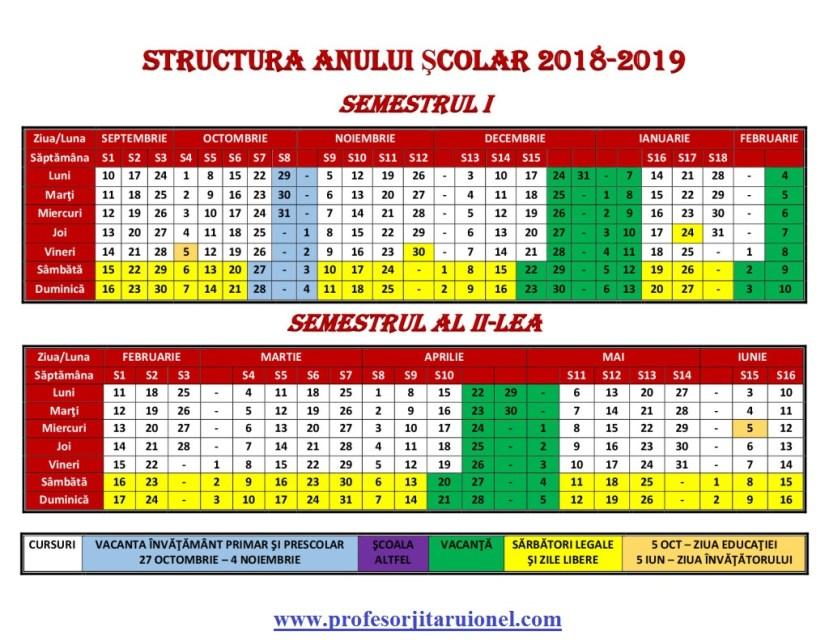 calendar-scolar-2018-2019-JitaruIonelBLOG