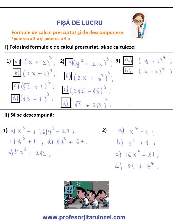 fisa-de-lucru-formule-de-calcul-II