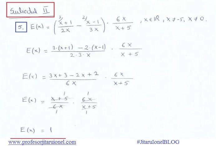 Matematica Clasa 10 Exercitii Rezolvate