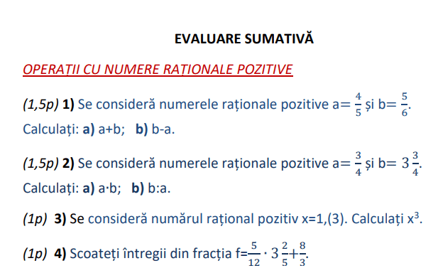 Test-numere-rationale-pozitive