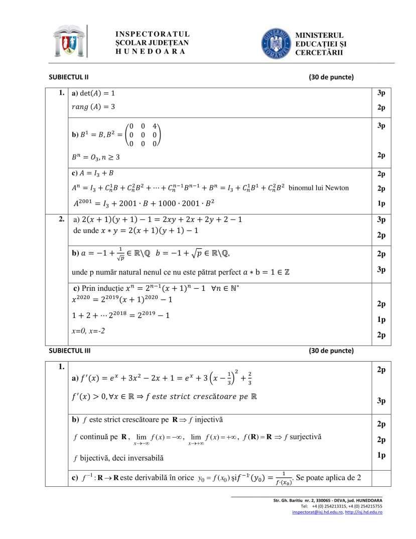 BAREM-Simulare-BAC 2020-matematica-HD-mate-info-bar-2