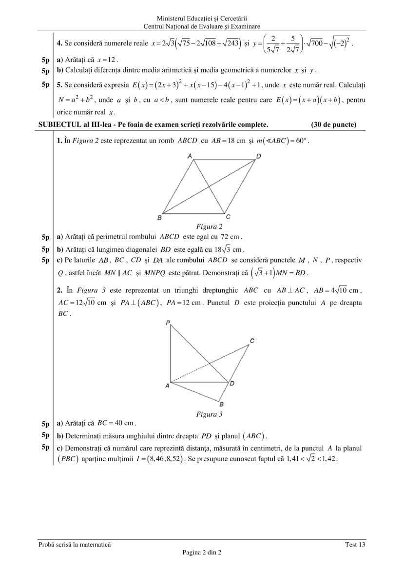 ENVIII_matematica_2020_Test_13-2