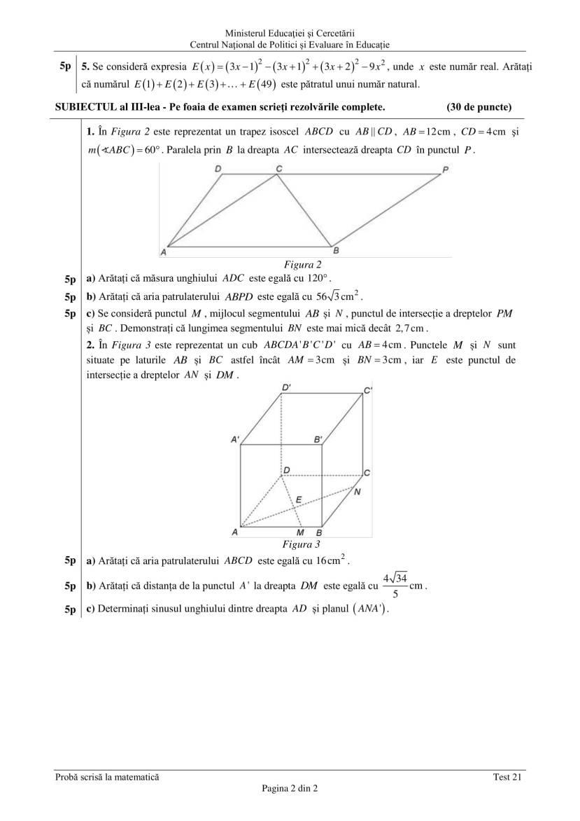 ENVIII_matematica_2020_Test_21-2