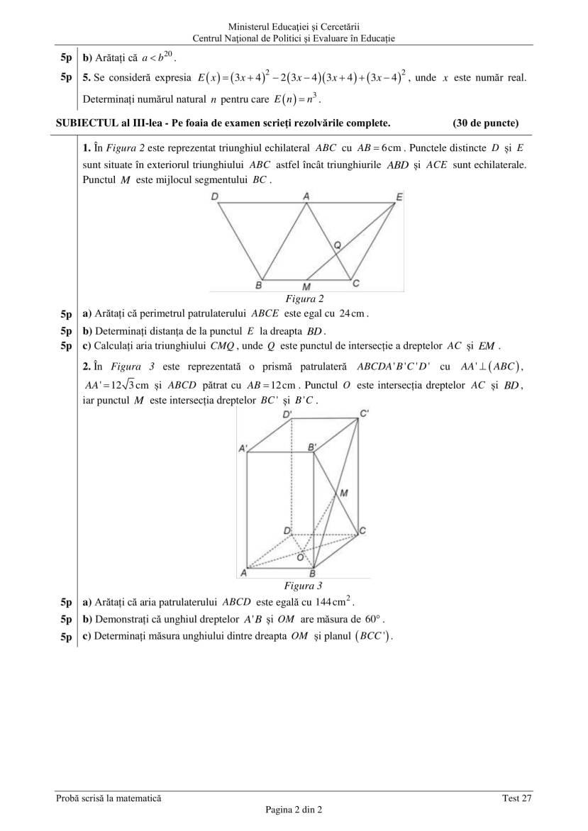 ENVIII_matematica_2020_Test_27-2