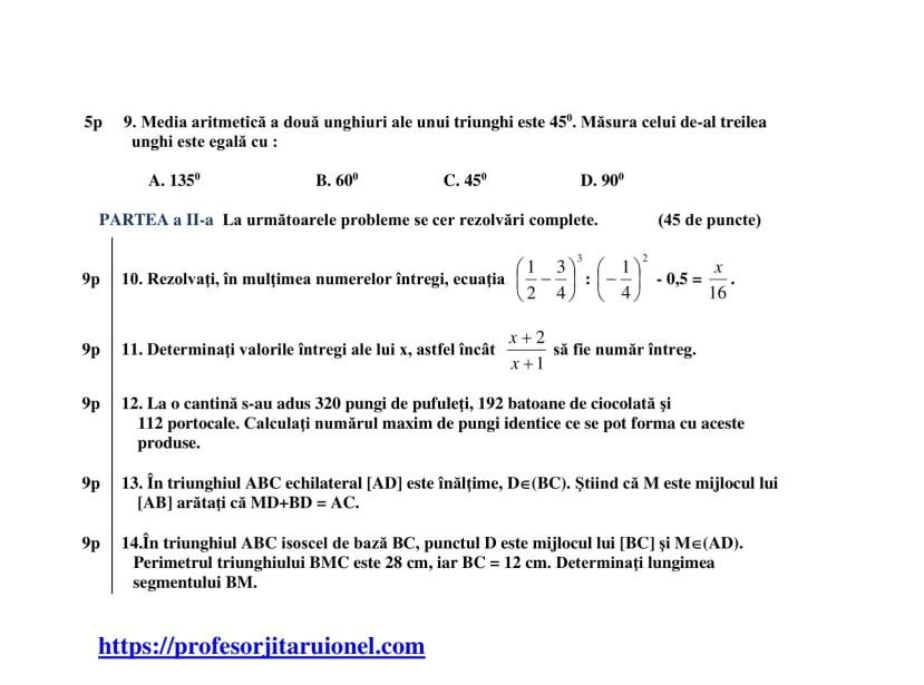 test-de-evaluare-intiala-clasa-a-7-a-matematica-an-scolar-2020-2021-2