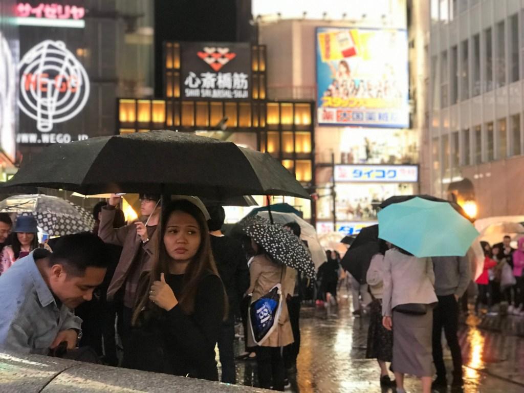 Dotonbori de noche, viaje a Osaka (Japón)