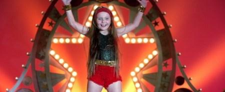 Pequeña Miss Sunshine en el escenario