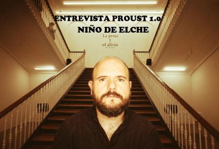 Entrevista al Niño de Elche en Profesor Jonk
