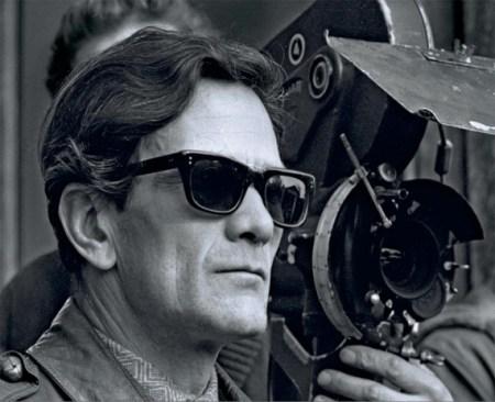 Retrato del director de cine italiano Pier Paolo Pasolini