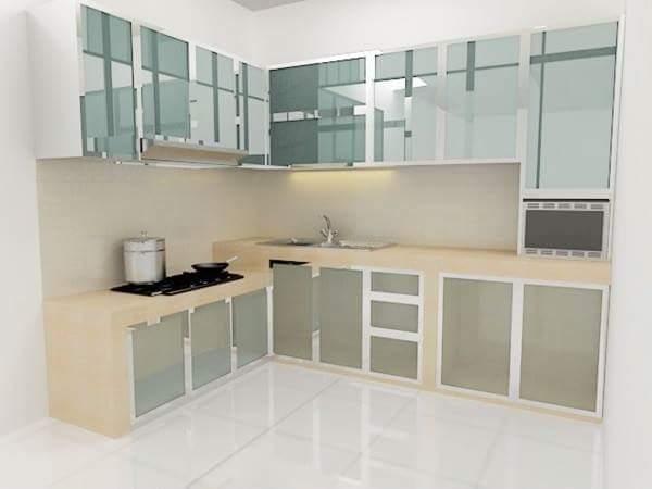Toko Kitchen Set Aluminium Minimalis Modern Jati Kramat
