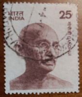 Sello de Gandhi
