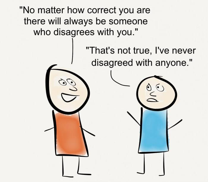"""agree and disagree And, if our perspectives are different, we should try out the phrase, """"let's agree to  disagree"""" at its core, it means """"lets still value each other let's acknowledge."""