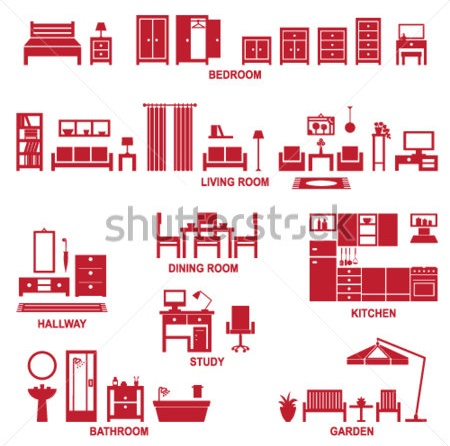 Vocabulary Practice: Furniture & Houses |