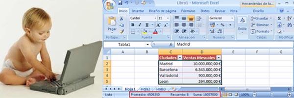 Primeros Pasos de Excel Basico