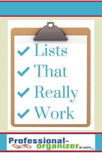list making productivity
