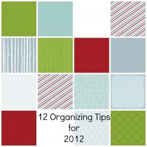 12 organizing tips