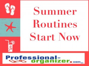 summer routines