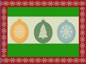 holiday decorating and organizing