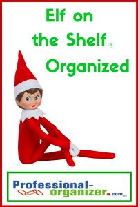 elf on the shelf organized