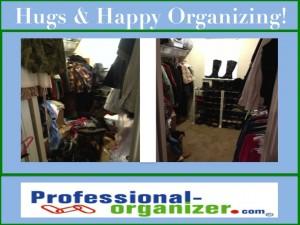 hugs and happy organizing
