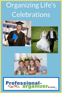organizing life's celebrations