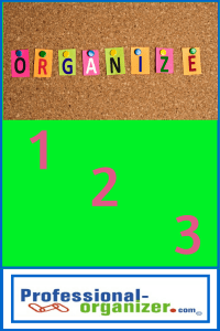home organizing basics