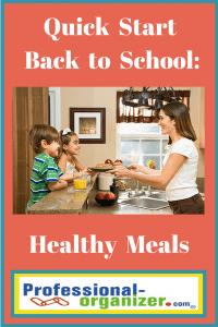 quick start back to school healthy meals