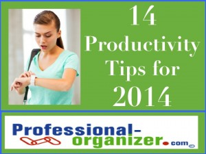 14 productivity tips