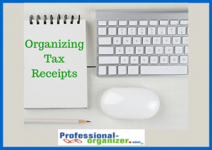 scanning tax receipts