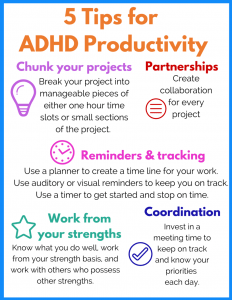 5 Tips for ADHD Productivity