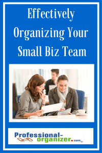 small business organizing