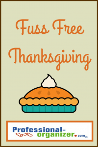 fuss free thanksgiving