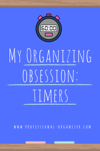 organizing obsession timer