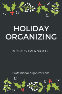 Holiday organizing