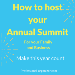 Annual summit and strategic planning