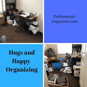 Hugs and happy organizing