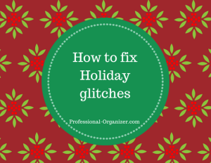 how to fix holiday glitches