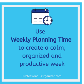 weekly planning time