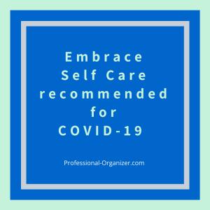 self care covid-19