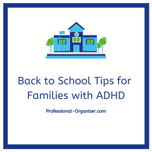 Back to school tips for families with ADHD