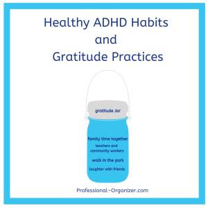 healthy adhd habits and gratitude