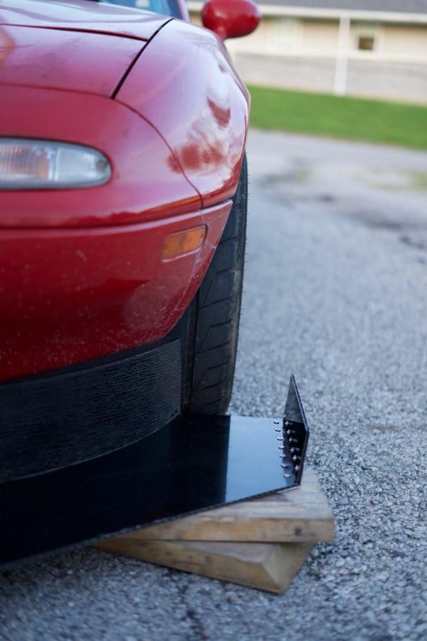 Mazda Miata Splitter End Fence