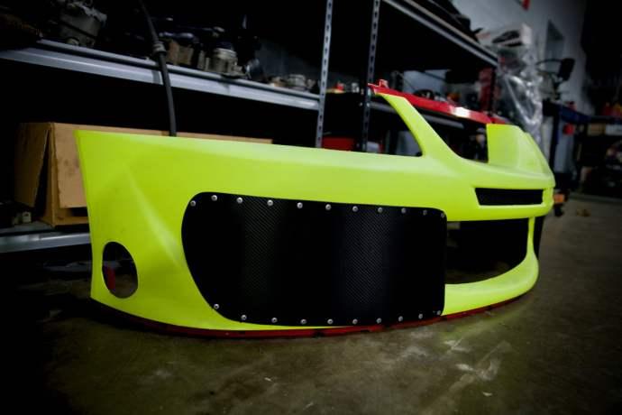 A little carbon fiber...